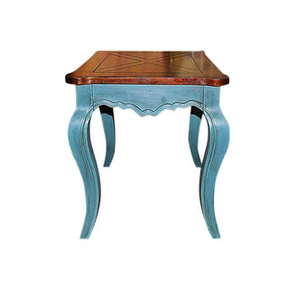 Chic Painted Side Table For Sale