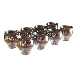 Mid-Century Modern Chilled Shrimp and Dessert Cups, Dorothy Thorpe Designer - Set of 8