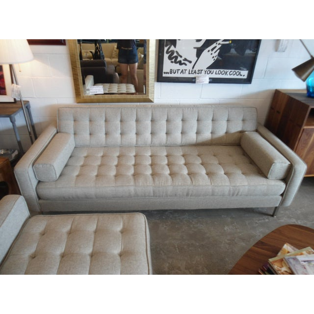 """Gus Spencer Loft Bi-Sectional in """"Leaside Driftwood"""" Colorway For Sale - Image 5 of 8"""