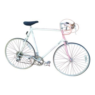 Zebra Original 1984 Light Weight Road Bicycle For Sale