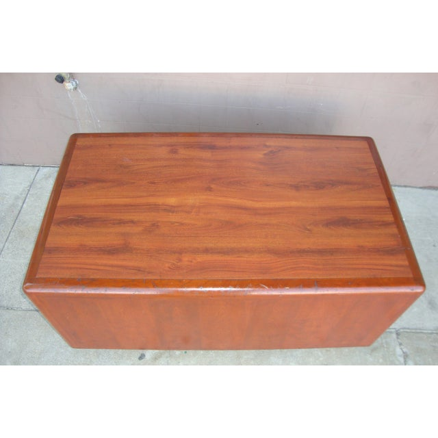 1970s Mid Century Wooden Coffee Table For Sale - Image 11 of 13
