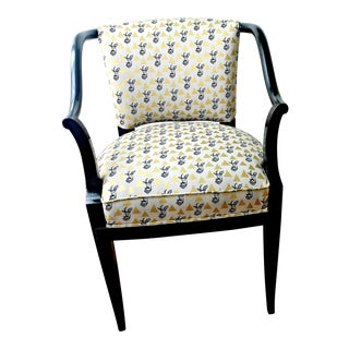 Antelope Upholstered Curved Arm Club Chair
