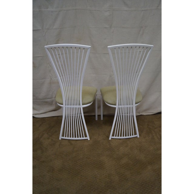 Stoneville Fan Back Dining Chairs - Set of 4 - Image 4 of 9