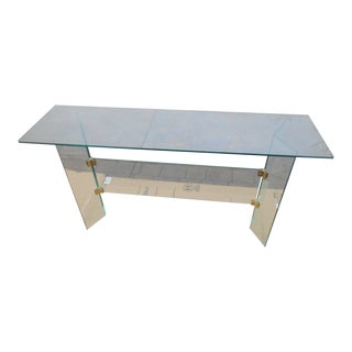 Mid-Century Modern Pace Glass Console