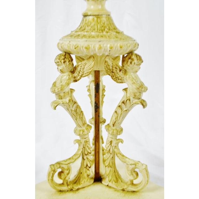 Hollywood Regency j.b. Van Sciver Co. Marble Top Table For Sale - Image 10 of 13