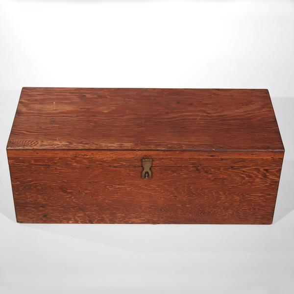 Mid-Century Travel Trunk For Sale - Image 11 of 11