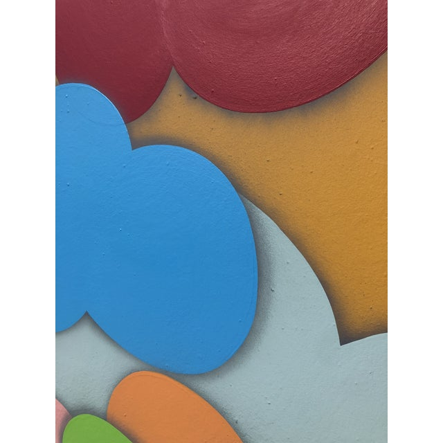 William Finlayson Abstract Acrylic Painting on Panel For Sale - Image 4 of 6
