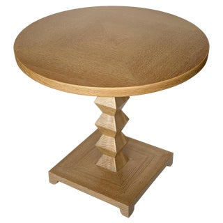 Donghia Jmf Jean-Michel Frank Cerused Oak Occasional End Table For Sale