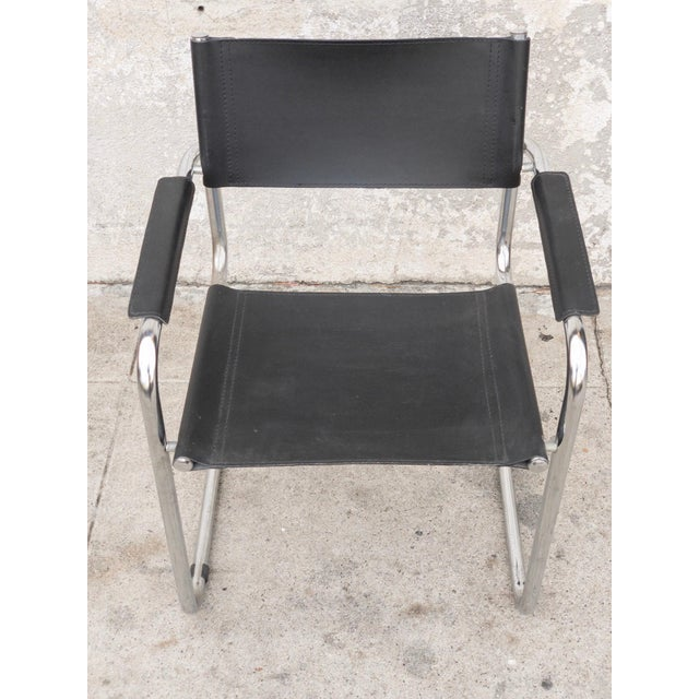 1950s Vintage Mart Stam Cantilever Armchair For Sale In Los Angeles - Image 6 of 7