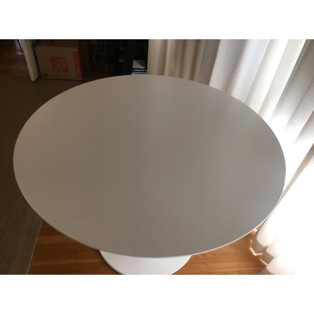Room & Board Room and Board White Aria Table For Sale - Image 4 of 5