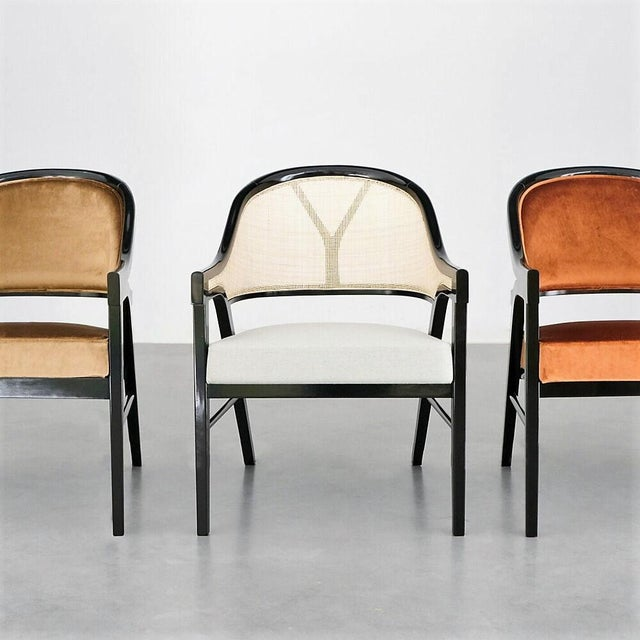 Not Yet Made - Made To Order Paulo Antunes Contemporary Dining Chairs in Cane and Solid Wood - Set of 4 For Sale - Image 5 of 7