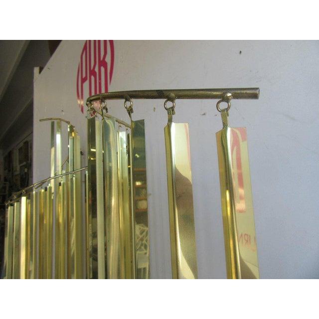 Modern Brass Wall Sculpture - Image 4 of 6