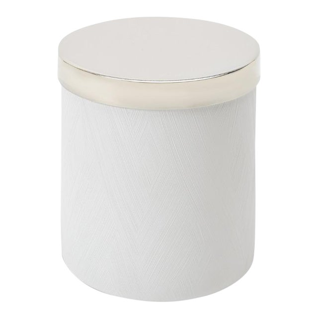 Tela Container in White For Sale
