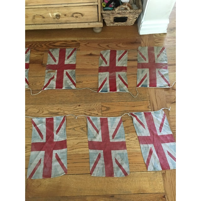 Vintage Union Jack Bunting For Sale - Image 4 of 8