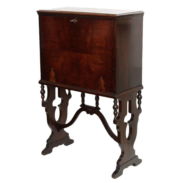"Early 20th Century ""Vargueno"" Secretary Desk - Image 3 of 10"