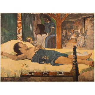 """1950s Paul Gauguin """"Nativity"""", First Edition Lithograph For Sale"""