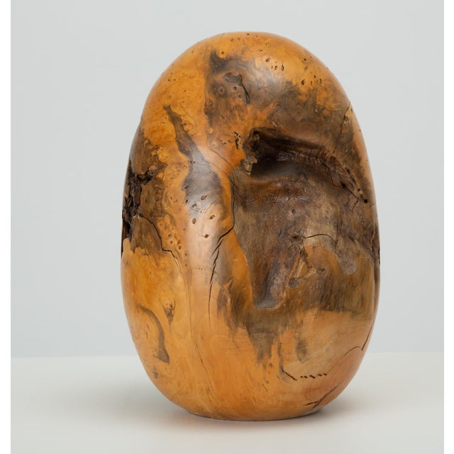 Single Turned Wood Object by Chuck McLaughlin For Sale - Image 9 of 13