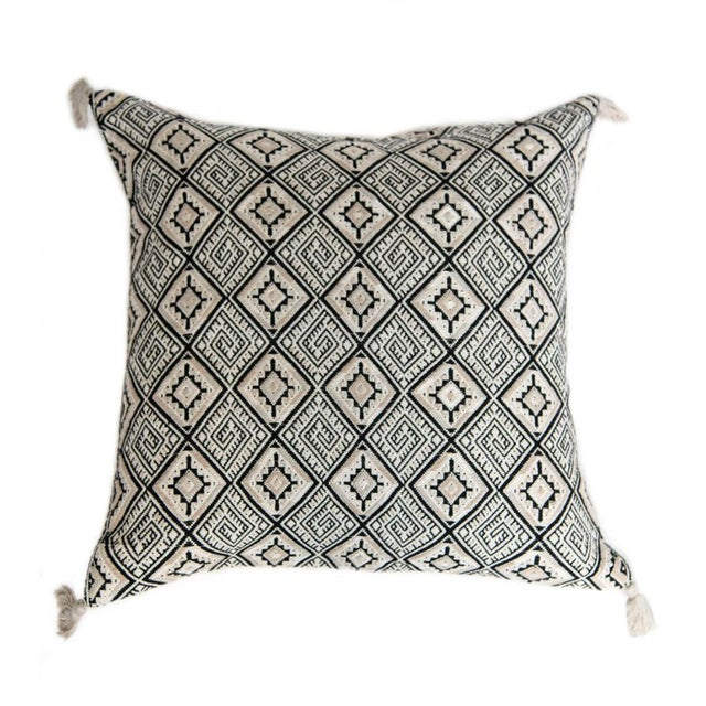 Guatemalan Black Pillow - Image 1 of 3