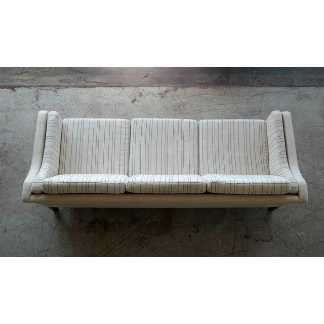 Børge Mogensen Style Three-Seat Sofa Model 2423 by Mogens Hansen - Image 9 of 9