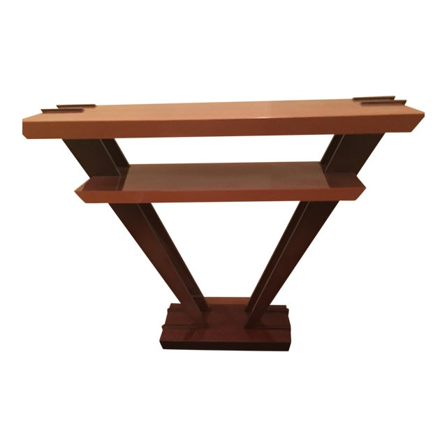 Art Deco Triangle Console - Image 1 of 4