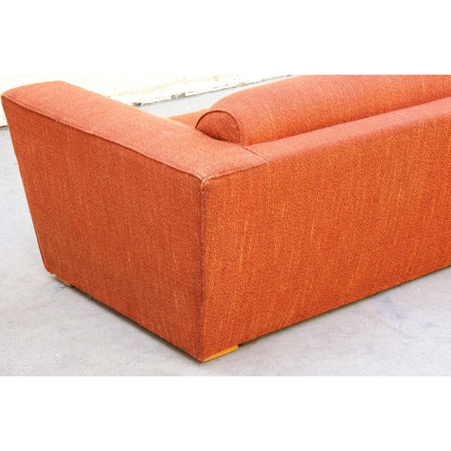 1940s Pauk Frankl Art Deco Club Sofa, Original 1940s For Sale - Image 5 of 8