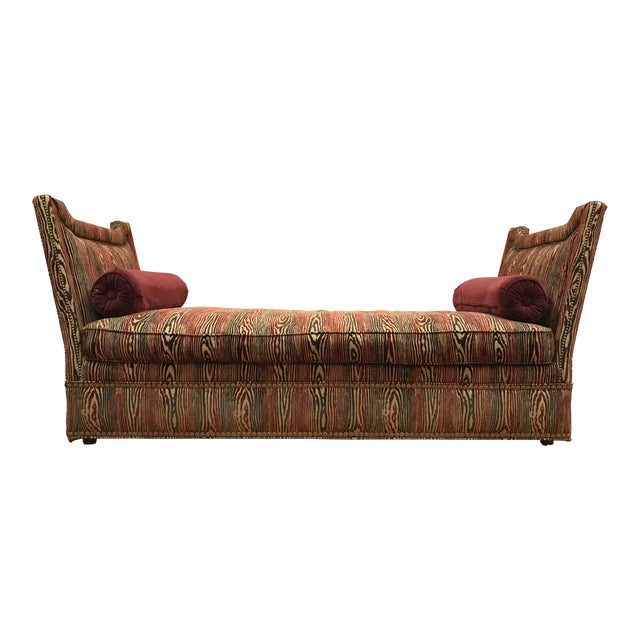 1990s Vintage Upholstered Chaise Daybed For Sale
