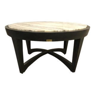 Modern Lane Venture Indoor/Outdoor Alabaster Cocktail Table Prototype For Sale