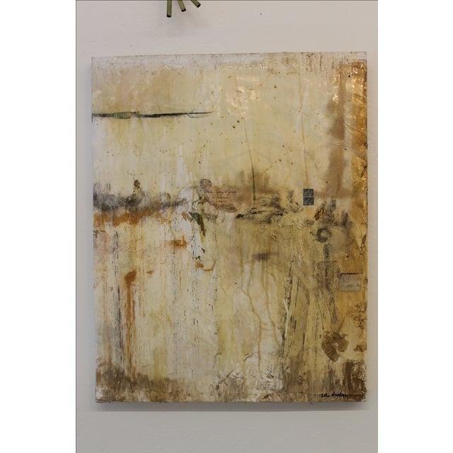 Life After Paris, Mixed Media Painting - Image 2 of 5