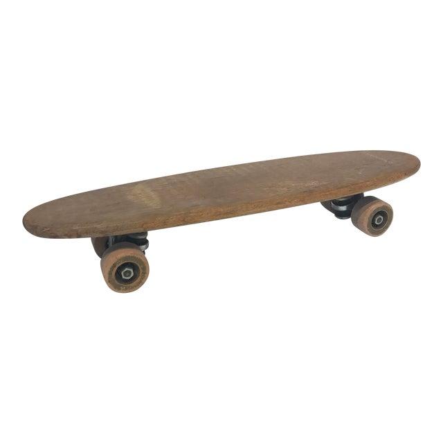 Vintage 1970's Wooden Skateboard - Image 1 of 6