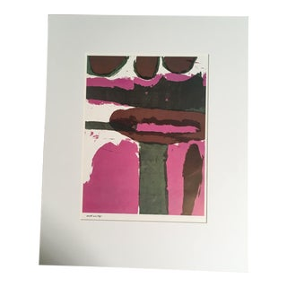 """1960s Abstract Print, """"Earth as a Sign"""" by Sister Corita For Sale"""