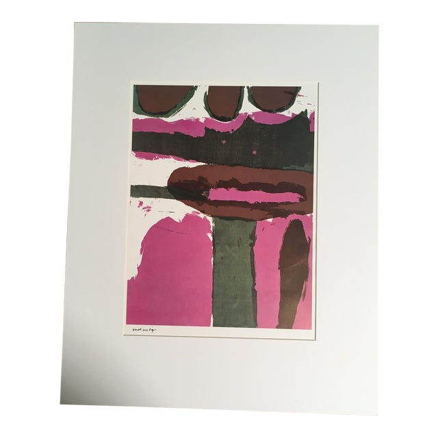 "1960s Abstract Print, ""Earth as a Sign"" by Sister Corita For Sale"