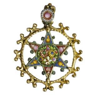 1970s Renaissance 6-Point Star Pendant For Sale