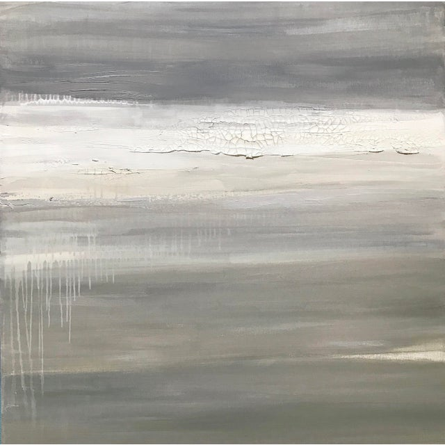 Fracture' Original Abstract Painting by Linnea Heide For Sale - Image 9 of 9