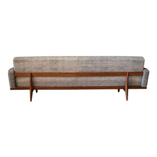 Vintage Sculptural Teak Bramin Sofa by h.w. Klein for Na Jorgensens Mobelfabrik For Sale