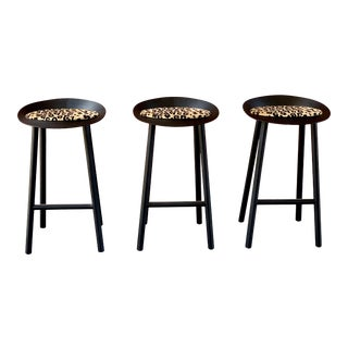 Jean Barstool by Stefan Diaz for E15 - Set of 3 For Sale