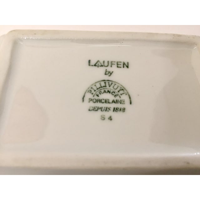1980s Vintage Laufen Pillivuyt, France Collector Porcelain Ashtrays - Set of 6 For Sale - Image 5 of 12