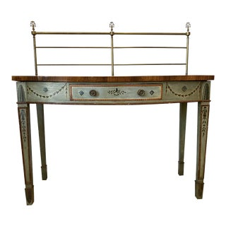 1815 George III Painted Sideboard Server For Sale