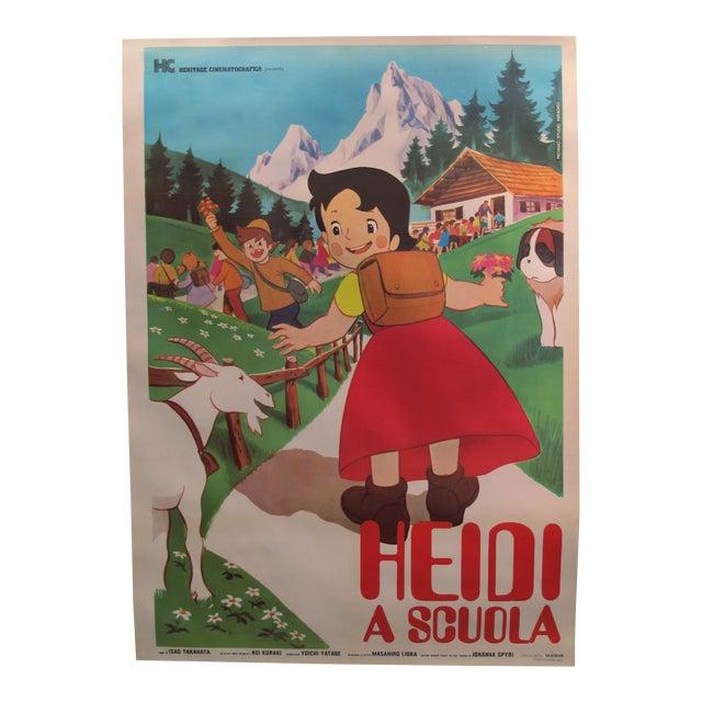 1985 Original Oversize Movie Poster (Italian Version) - Heidi For Sale