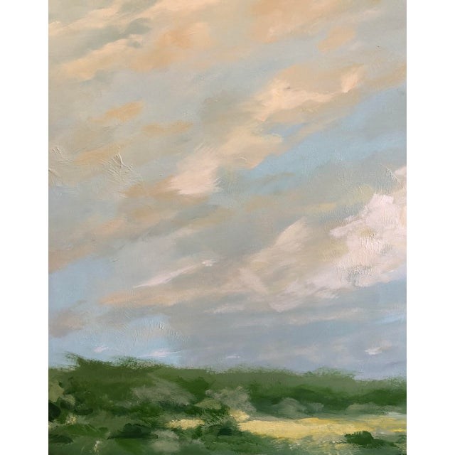 Original abstract landscape painting by Chelsea Fly. This modern landscape is a mix of two styles, and is part of my...