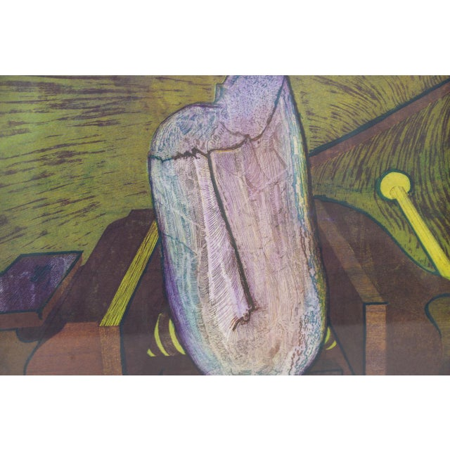 Roland Petersen Original Abstract Etching W/ Aquatint C.1970s For Sale - Image 4 of 12