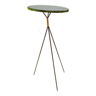 Modern Dutch Design Decorative High Gloss Lacquered Ndebele Side Table by Melchior Van Dansik For Sale