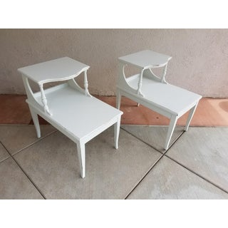 White End Tables - a Pair Preview