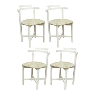 Vintage Gangso Mobler Mid-Century Danish Modern Dining Chairs - Set of 4