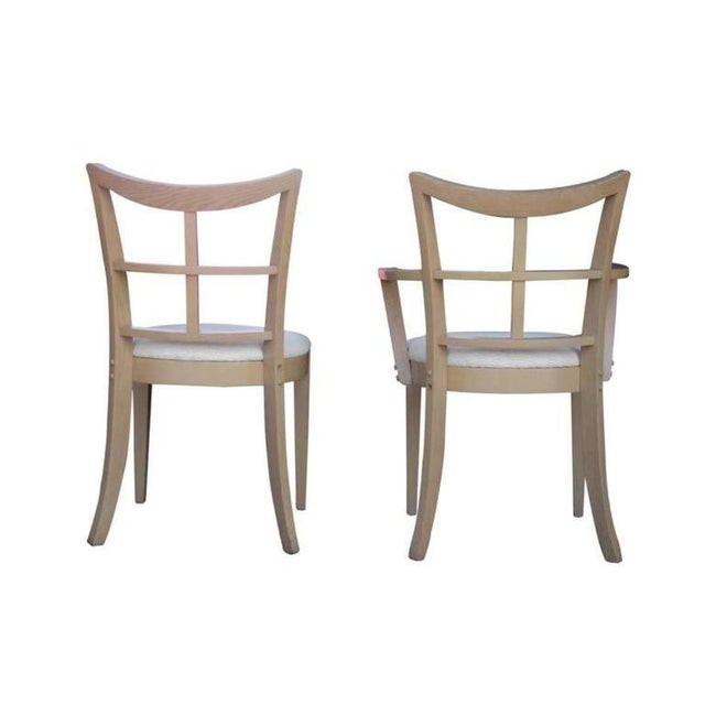 Paul Frankl Dining Chairs - Set of 10 - Image 5 of 8