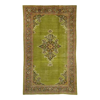 Late 19th Century Antique Persian Sultanabad Rug, 08'11 X 15'00 For Sale