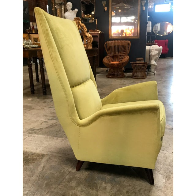 ISA International Inc. Italian Absolutely Fabulous Armchairs by ISA For Sale - Image 4 of 10