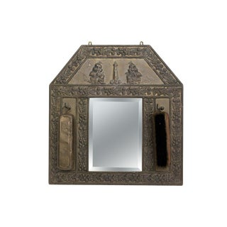 Lighthouse Vanity Mirror With Garment Brushes