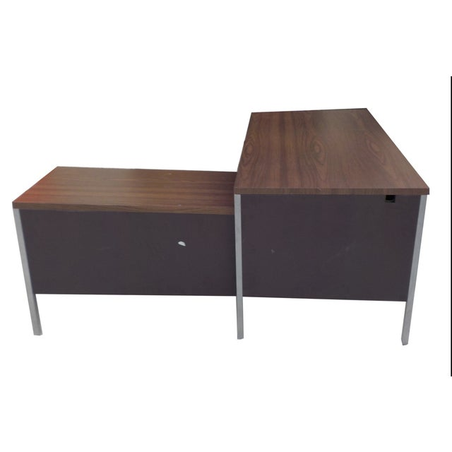 Steelcase Style Mid-Century Desk - Image 3 of 4