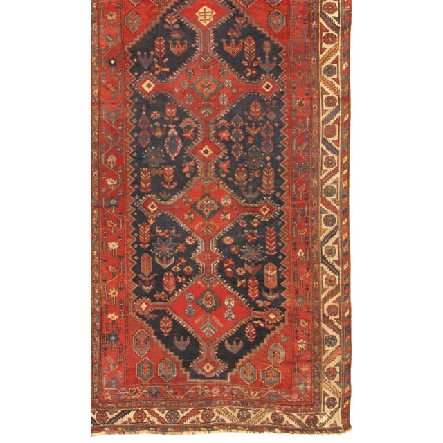 Meet Shiraz Vintage Lamb's Wool Hand-Knotted Area Rug collection. This gorgeous decorative Shiraz Vintage Lamb's Wool...
