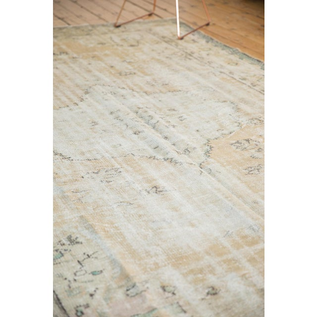 """Vintage Distressed Oushak Carpet - 7'2"""" X 10'1"""" For Sale In New York - Image 6 of 13"""